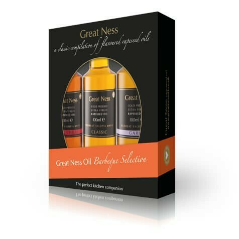 BBQ Rapeseed Oil Selection Gift Pack