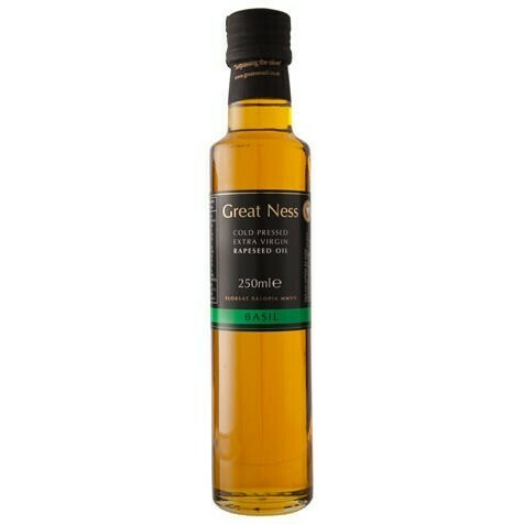 Basil Flavour Rapeseed Oil - 250ml