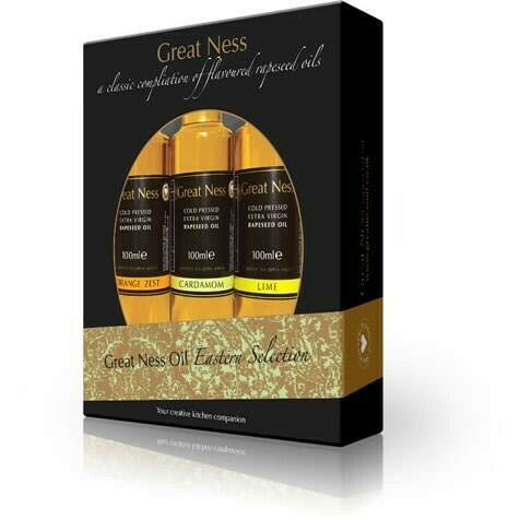 Eastern Rapeseed Oil Selection Gift Pack