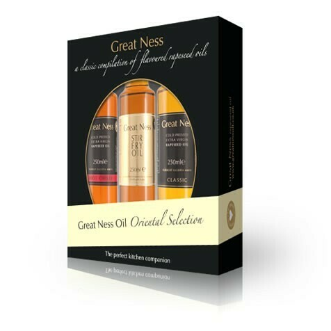 Oriental Rapeseed Oil Selection Gift Pack